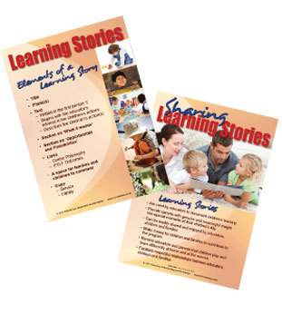 Learning Stories Poster Set