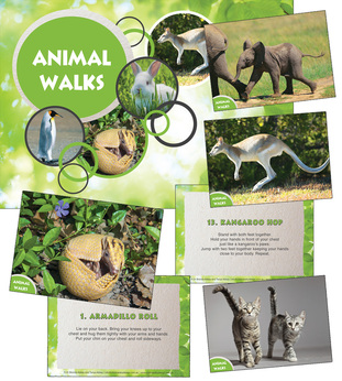 Animal Walk Cards