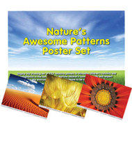 Nature�s Awesome Patterns Poster Set